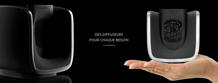 prysm diffuseur lectrique scentys de parfum en capsule. Black Bedroom Furniture Sets. Home Design Ideas